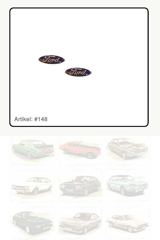 """Aufkleber / Schriftzug """"Ford"""""""