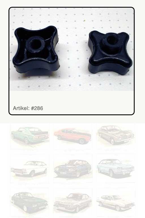 Verstellelement, Kunststoff schwarz Verstellelement, Kunststoff schwarz für Scheinwerferhaltering Capri III